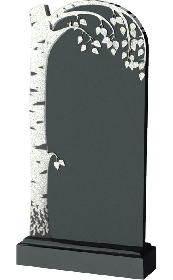 Установить надгробие участнику вов Эконом памятник Башня с профильной резкой Аткарск
